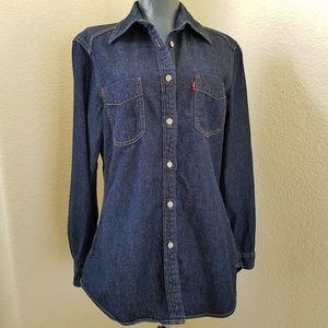Levi's Red Tab Asian Dragon Jean Button Down Shirt